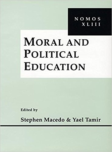 Moral and political education