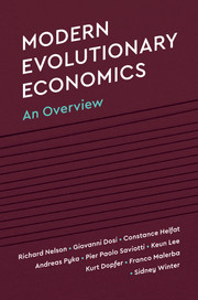 Modern evolutionary economics. 9781108446198