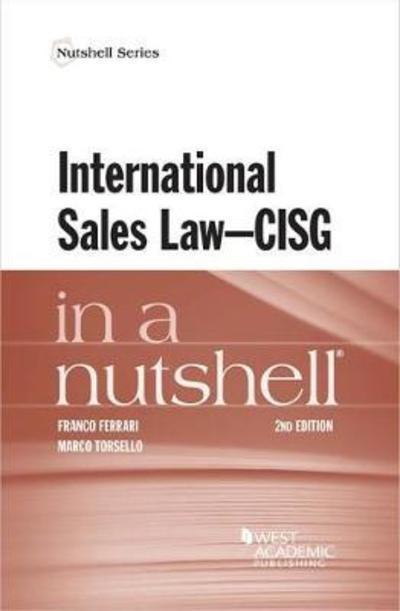 International sales Law - CISG in a nutshell. 9781640201279