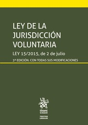 Ley de la Jurisdicción Voluntaria. 9788491905097