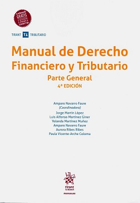Manual de Derecho Financiero y Tributario. 9788491906759