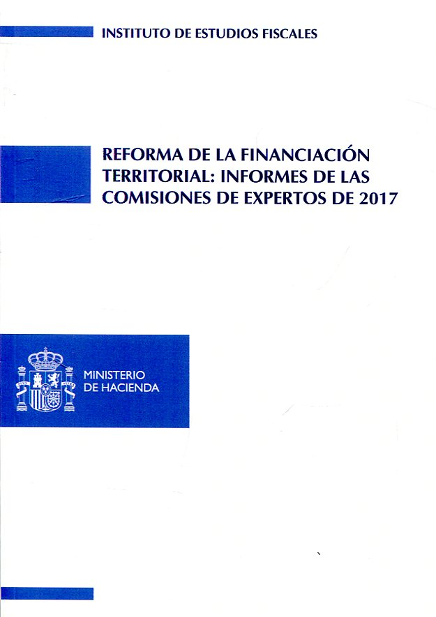 Reforma de la financiación territorial. 9788480084055