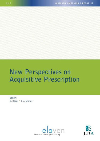 New perspectiveson acquisitive prescription. 9789462369597