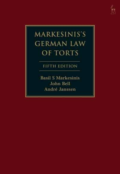 Markesinis's German Law of Torts. 9781509933198