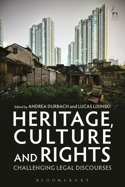 Heritage, culture and rights. 9781509932214