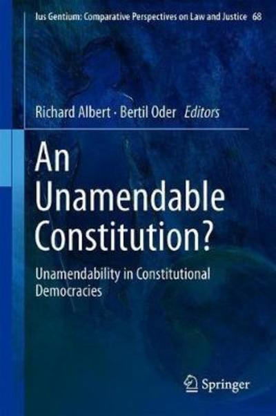 An unamendable Constitution?. 9783319951409