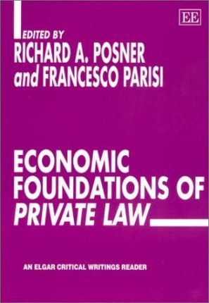 Economic foundations of private law
