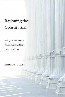 Rationing the Constitution. 9780674986954