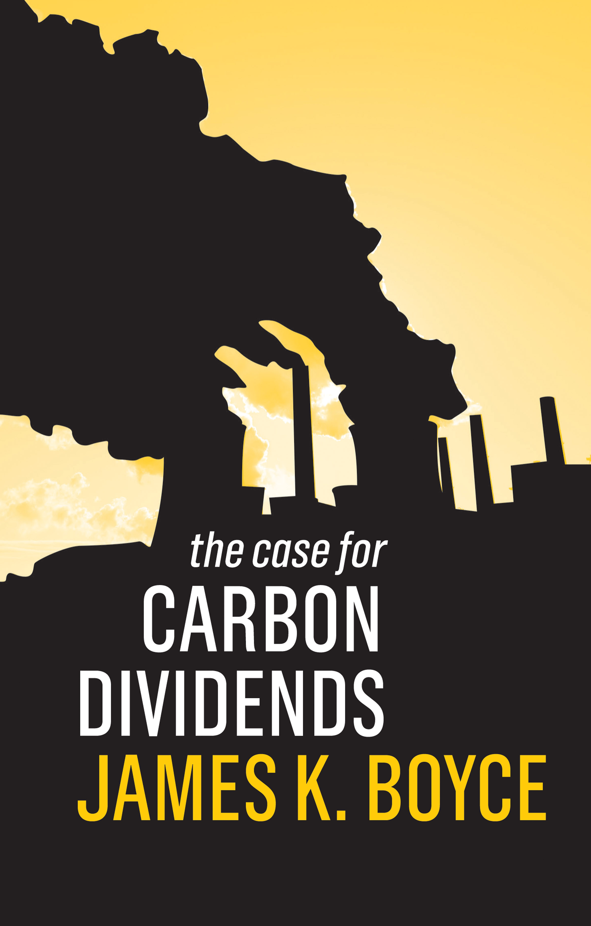 The case for carbon dividends. 9781509526550