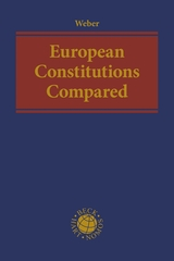 European constitutions compared. 9781509931545