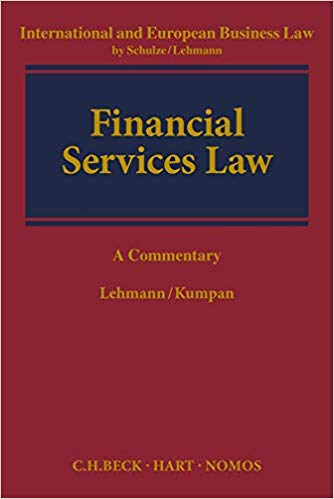 European Financial Services Law. 9789462368828