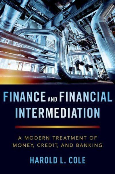Finance and financial intermediation. 9780190941703