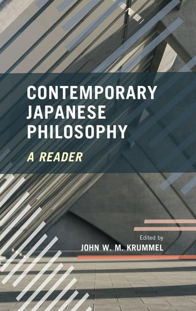 Contemporary japanese philosophy. 9781786600851