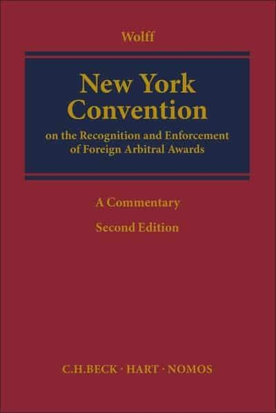 New York Convention. 9781509923854