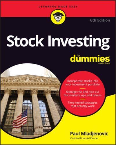 Stock Investing for Dummies. 9781119660767