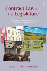Contract law and the legislature. 9781509926107