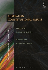 Australian constitutional values. 9781509939510