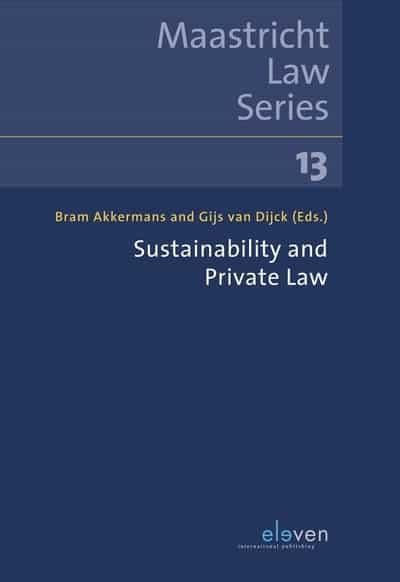 Sustainability and Private Law. 9789462369863