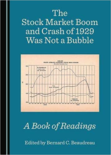 The stock market boom and crash of 1929 was not a bubble. 9781527540804