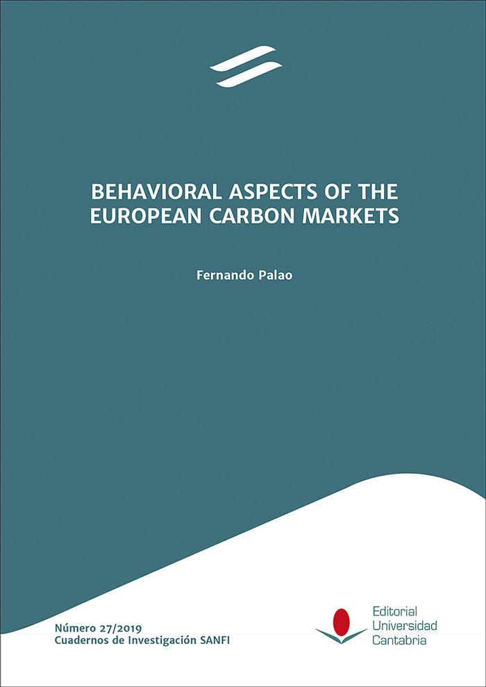 Behavioral aspects of the European Carbon Market. 9788481029130