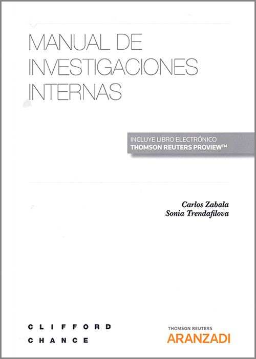 Manual de investigaciones internas. 9788413458519
