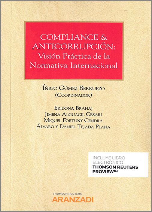 Compliance & anticorrupción. 9788413458984