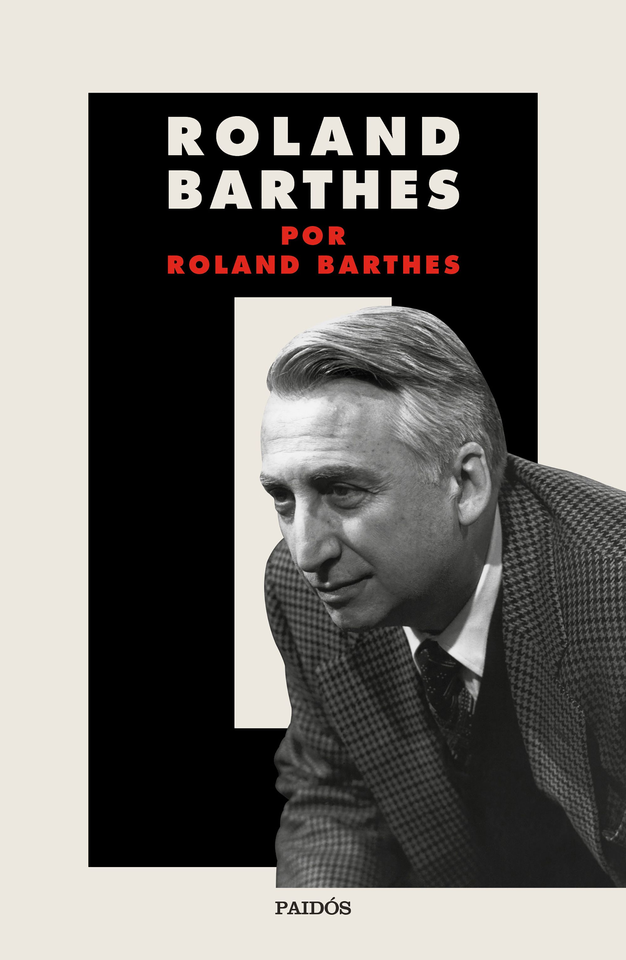 Roland Barthes por Roland Barthes. 9788449337826