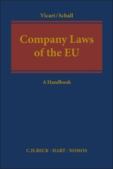 Company laws of the EU. 9781509923991