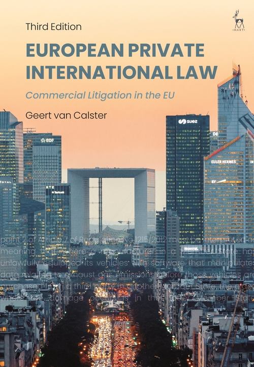 European private international law. 9781509942077