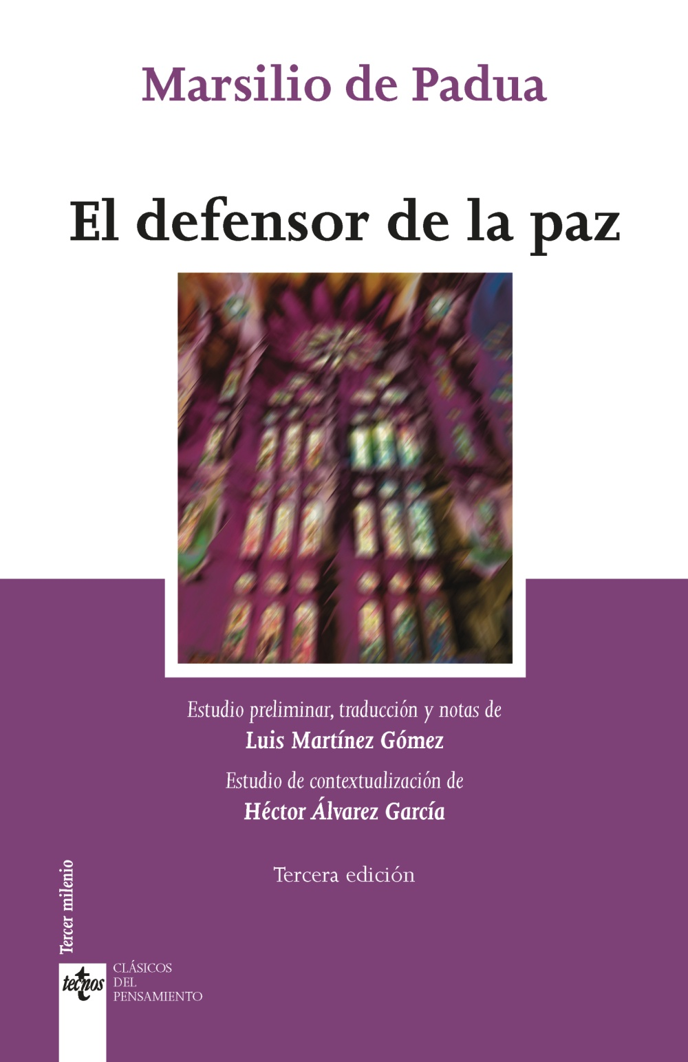 El defensor de la paz. 9788430981588