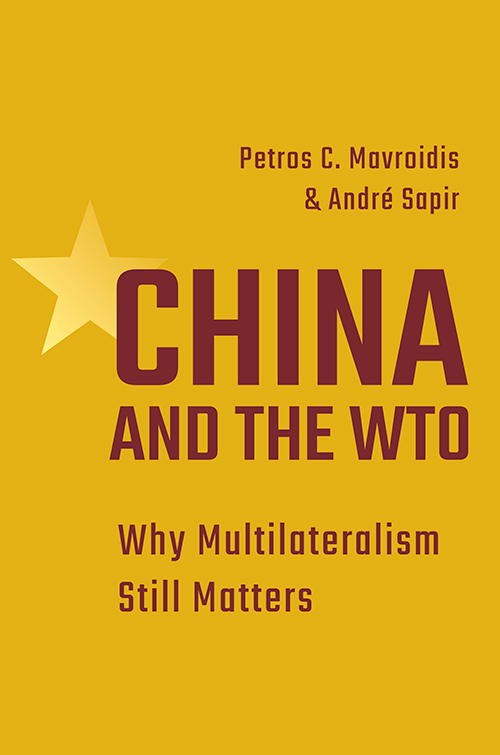 China and the WTO. 9780691206592